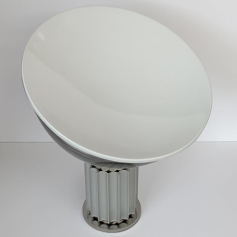 Anodized Taccia Lamp by Pier Giacomo and Achille Castiglioni for Flos For Sale