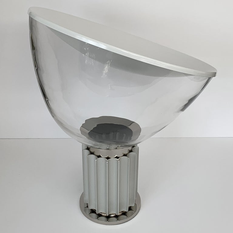 Late 20th Century Taccia Lamp by Pier Giacomo and Achille Castiglioni for Flos For Sale