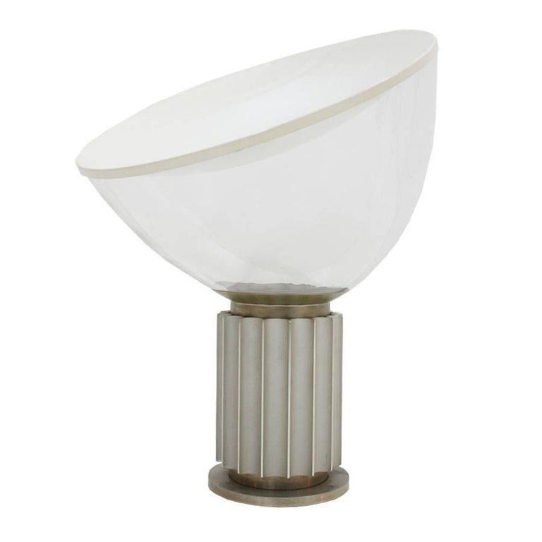 Taccia Model Table Lamp Designed by Achille Castiglioni and Edited by Flos For Sale