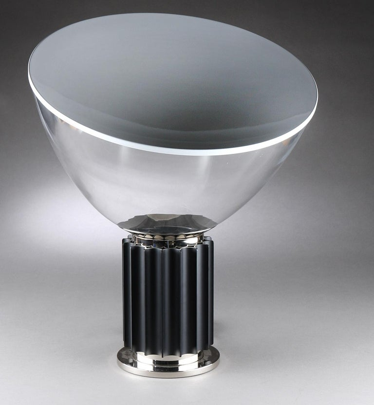 Mid-Century Modern Taccia Table Lamp by Achille and Pier Giacomo Castiglioni for Flos For Sale
