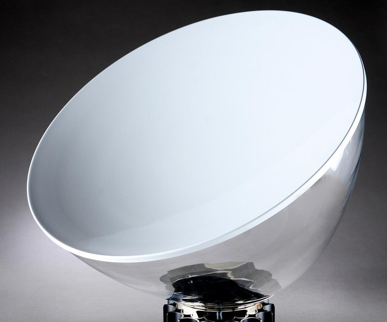 Painted Taccia Table Lamp by Achille and Pier Giacomo Castiglioni for Flos For Sale
