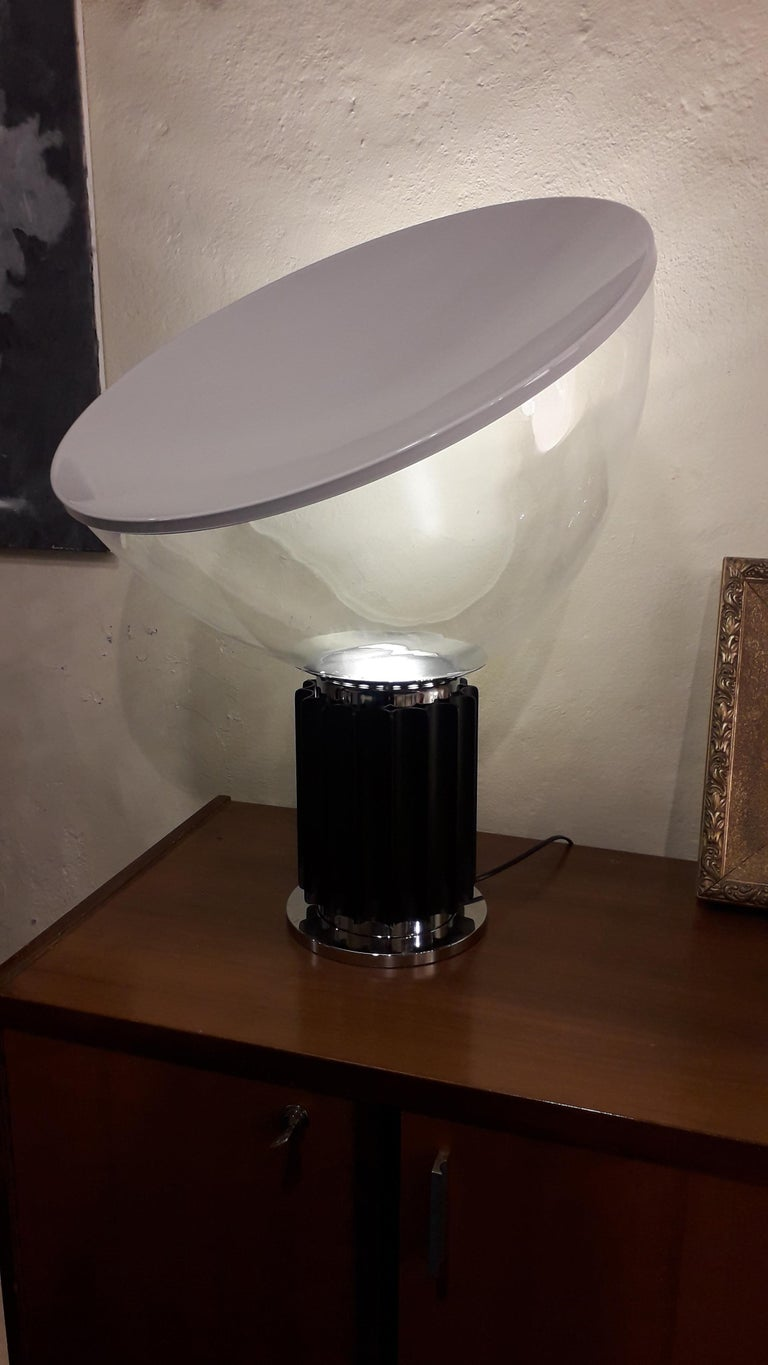 Late 20th Century Taccia Table Lamp by Achille & Pier Giacomo Castiglioni from Flos For Sale