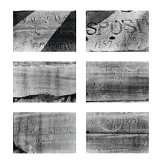 Lord Byron died, Suite of 6 black-and-white photographs, 2003, Contemporary Art
