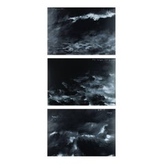 Untitled, Triptych of 3 Silkscreens, Contemporary Art, British Artist