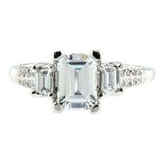 Tacori Diamond Semi Mount Ring in Platinum