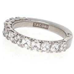 Tacori Diamond Platinum Band