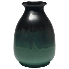 Tactile, Understated Stoneware Glazed Vase Vicke Lindstrand, Upsala Ekeby