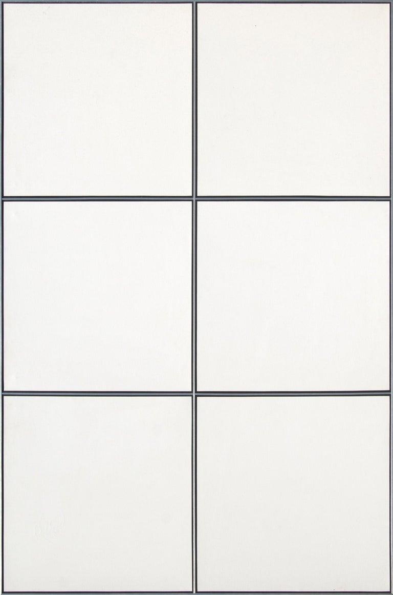 Tadaaki Kuwayama Abstract Painting - Off White