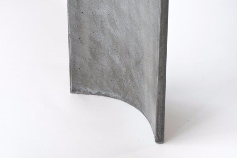 Tadao Alto Concrete Contemporary Console, 100% Handcrafted in Italy 6