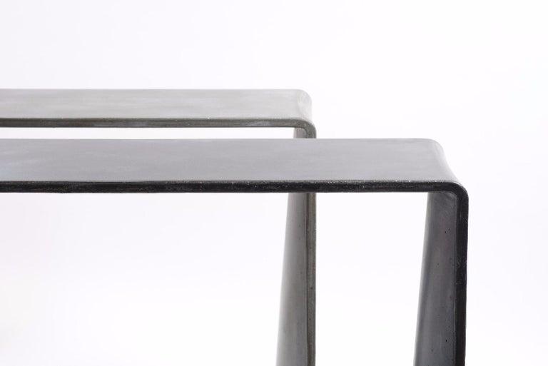 Tadao Alto Concrete Contemporary Console, 100% Handcrafted in Italy 8