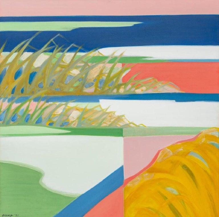 At water's edge - Painting by Tadashi Asoma