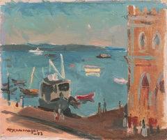'Bahia Harbor, Brazil', French Post-Impressionist, Paris, Rio de Janeiro, Japan