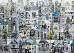 Sublime 621 - Original Urban Landscape Photographic Collage Artwork