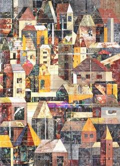 """Sublime - 183"", Original Photographic Collage Mixed Media Artwork"