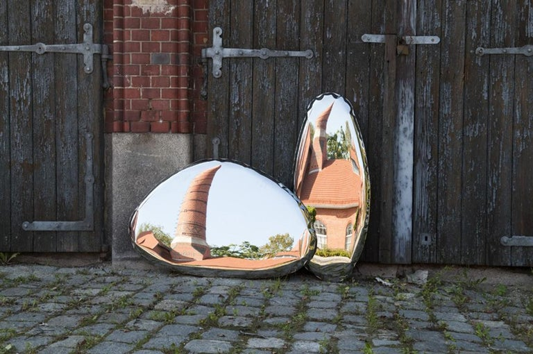 Tafla Mirror C3 by Zieta Prozessdesign in Stainless Steel For Sale 6