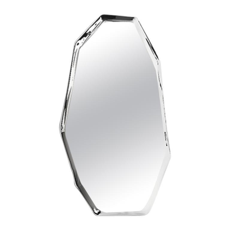 Tafla Mirror C3 by Zieta Prozessdesign in Stainless Steel For Sale