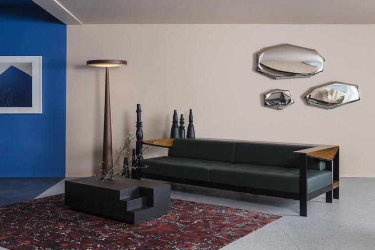 Tafla Mirror O3 by Zieta Prozessdesign in Stainless Steel For Sale 4