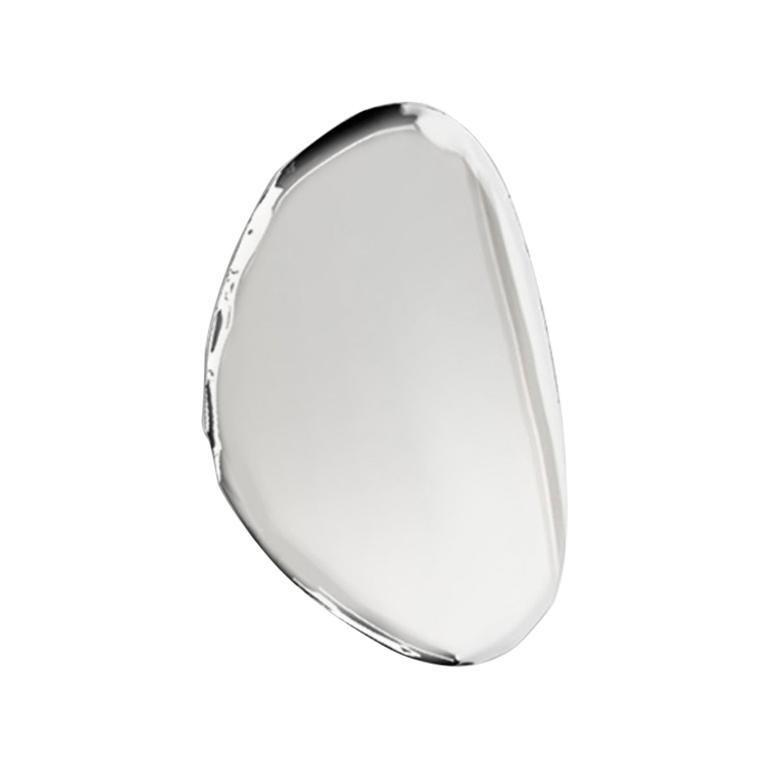Tafla Mirror O3 by Zieta Prozessdesign in Stainless Steel For Sale