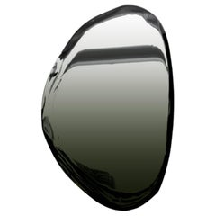 Tafla O2 Polished Dark Matter Color Stainless Steel Wall Mirror by Zieta