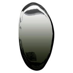 TAFLA O4 Polished Dark Matter Color Stainless Steel Wall Mirror by Zieta