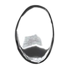 Tafla O5 Polished Stainless Steel Wall Mirror by Zieta