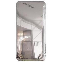 Tafla Q2 Polished Stainless Steel Wall Mirror by Zieta