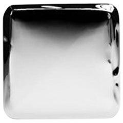 Tafla Q3, Wall Mirror in Polished Stainless Steel, Zieta