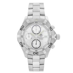 TAG Heuer 2000 Aquaracer Steel Silver Dial Automatic Mens Watch CAF2111.BA0809