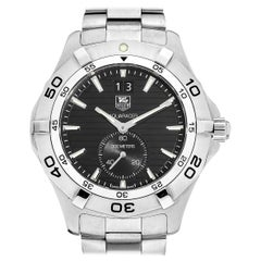 TAG Heuer Aquaracer 300M Black Dial Men's Diver Stainless Steel Watch