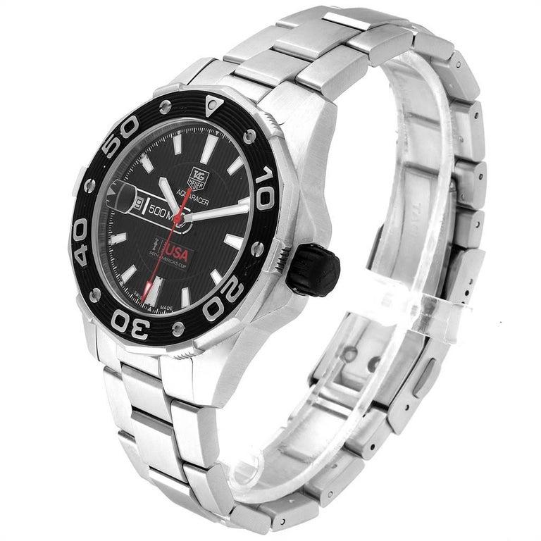 TAG Heuer Aquaracer Steel Rose Gold Men's Watch WAJ2150 1
