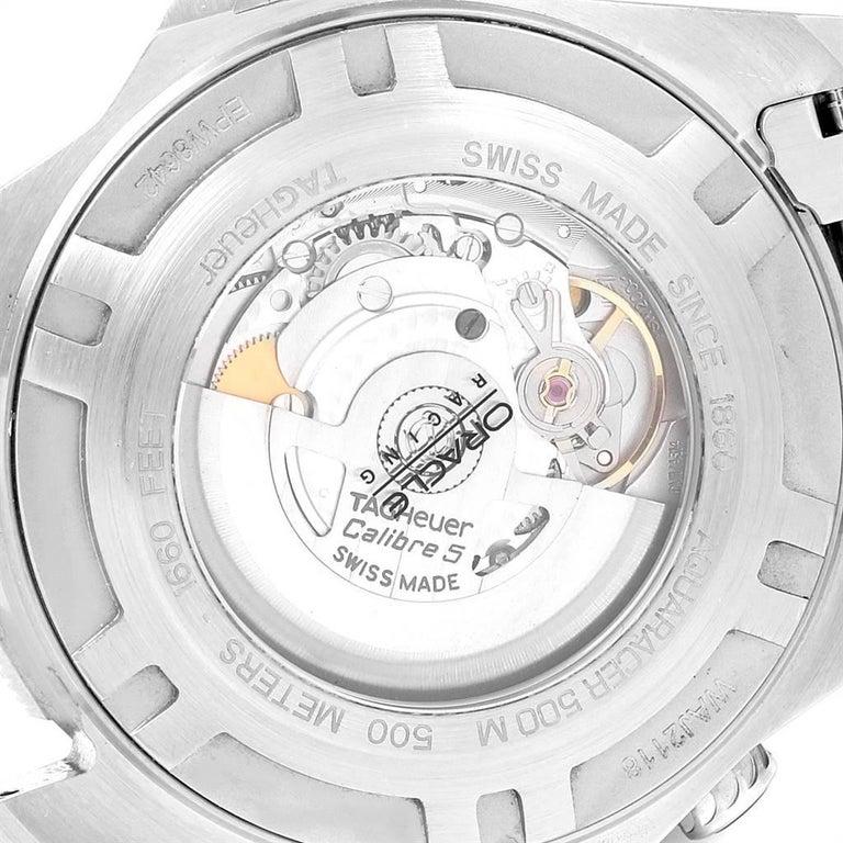 TAG Heuer Aquaracer Steel Rose Gold Men's Watch WAJ2150 3
