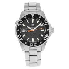 TAG Heuer Aquaracer 500m Black Dial Steel Quartz Men's Watch WAJ1110.BA0870