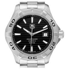 TAG Heuer Aquaracer Black Dial Automatic Steel Men's Watch WAY2110 Box