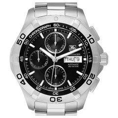 TAG Heuer Aquaracer Black Dial Chronograph Men's Watch CAF2010