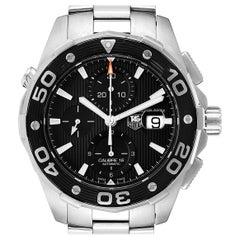 TAG Heuer Aquaracer Black Dial Stainless Steel Men's Watch CAJ2110