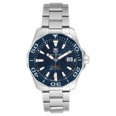 TAG Heuer Aquaracer Blue Dial Automatic Steel Men's Watch WAY211C