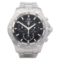 TAG Heuer Aquaracer CAF101E Men's Stainless Steel Chronograph Watch