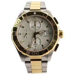 TAG Heuer Aquaracer Calibre 16 Chronograph Automatic Watch Stainless Steel and P