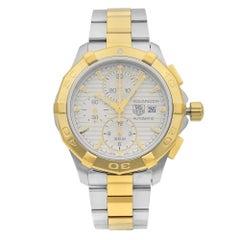 TAG Heuer Aquaracer Chronograph Steel Silver Dial Men's Watch CAP2120.BB0834