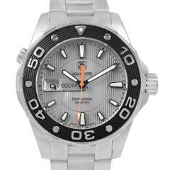 TAG Heuer Aquaracer Grey Dial Steel Men's Watch WAJ1111
