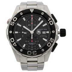 TAG Heuer Aquaracer Limited Edition GGYC Defender Men's Watch CAJ2112.FT6023