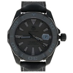 TAG Heuer Aquaracer Men's Watch, Titanium Automatic Ltd Edition 2Yr Wnty WAY218B