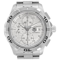 TAG Heuer Aquaracer Silver Dial Chronograph Steel Men's Watch CAP2111