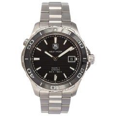 TAG Heuer Aquaracer Stainless Steel Swiss Automatic Men's Watch WAK2110