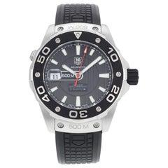 TAG Heuer Aquaracer Steel Rubber Black Dial Automatic Men's Watch WAJ2119.FT6015