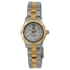 TAG Heuer Aquaracer WAF1451, Beige Dial, Certified and Warranty