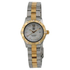 TAG Heuer Aquaracer WAF1451, Gold Dial, Certified and Warranty