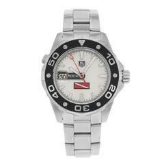 TAG Heuer Aquaracer White Dial Steel Automatic Men's Watch WAJ211A.BA0870