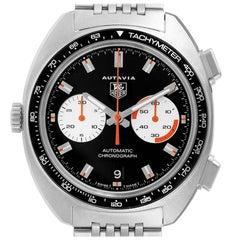 Tag Heuer Autavia Automatic Chronograph Mens Watch CY2111 Box Card