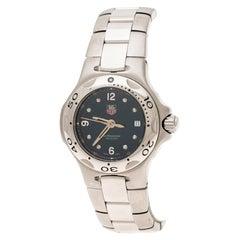 Tag Heuer Blue Stainless Steel Kirium WL1313-0 Women's Wristwatch 28 mm